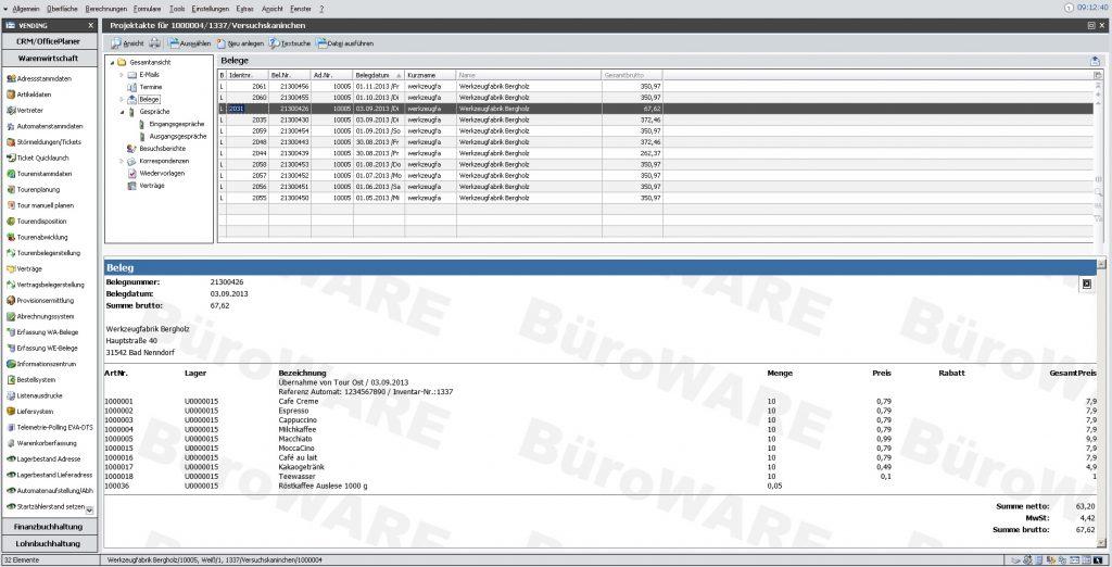 BüroWare Warenwirtschaft kaufen und installieren lassen