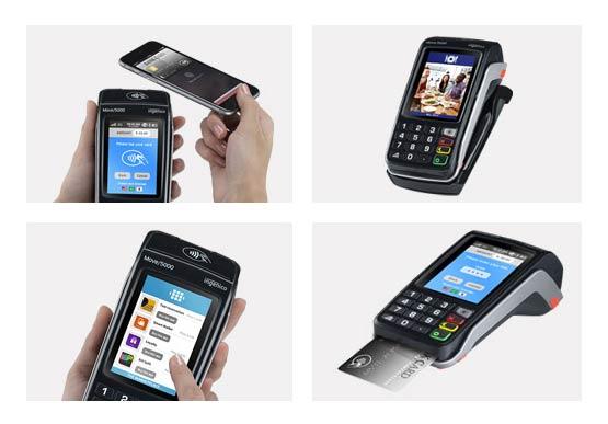 EC-Zahlungsterminal portabel mobil