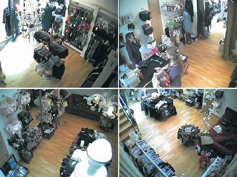 Video-Überwachung Einzelhandel